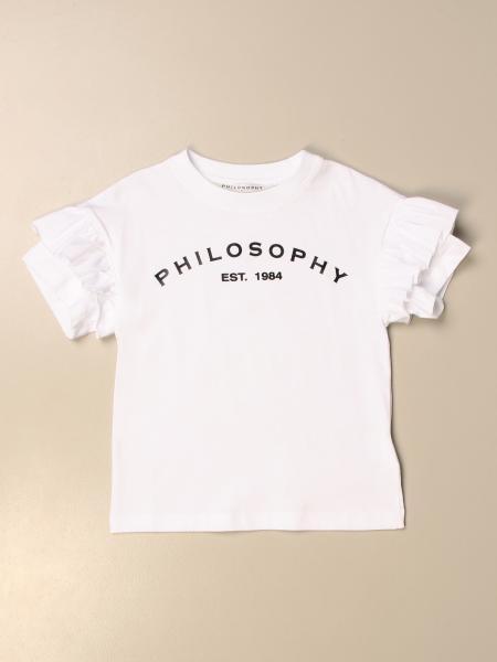 Philosophy Di Lorenzo Serafini logo t-shirt
