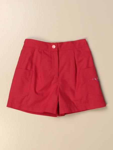 Pantalons courts enfant Philosophy Di Lorenzo Serafini