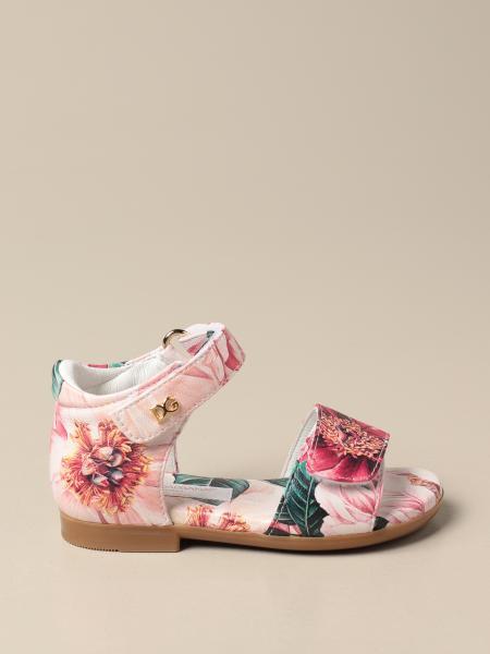 Dolce & Gabbana floral patterned sandals