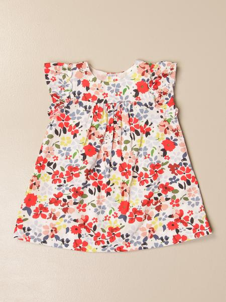 Bonpoint dress in floral patterned cotton