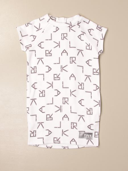 Karl Lagerfeld Kids dress with all over lettering