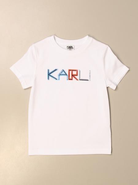 Karl Lagerfeld Kids logo t-shirt