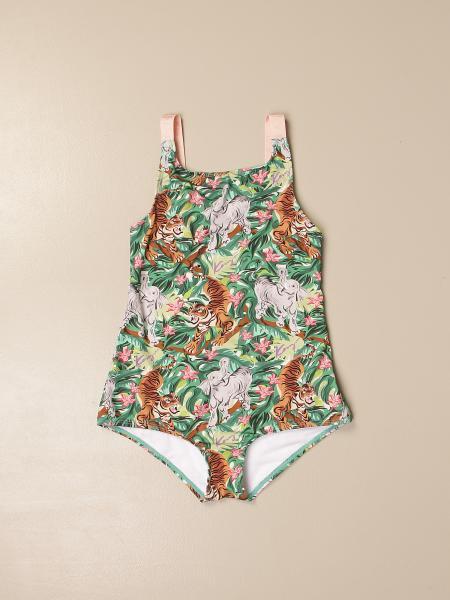 Kenzo Junior printed one-piece swimsuit