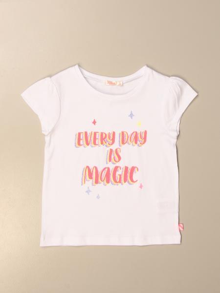 Billieblush: Billieblush t-shirt with every day is magic print