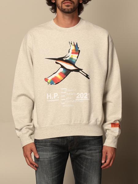Heron Preston: Heron Preston crewneck sweatshirt with maxi print