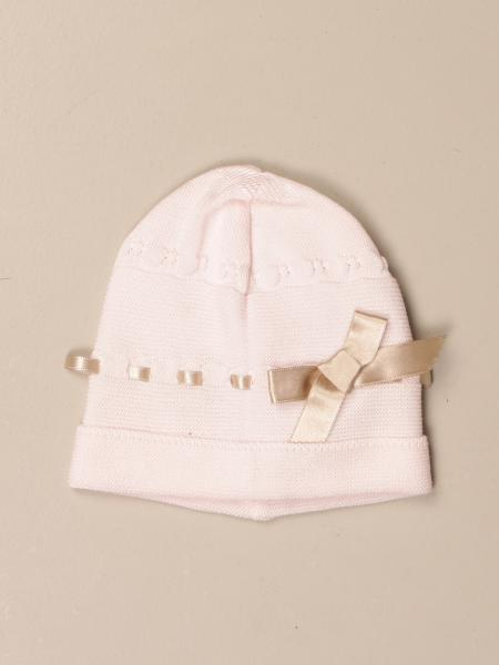 Light colors cap hat with bow