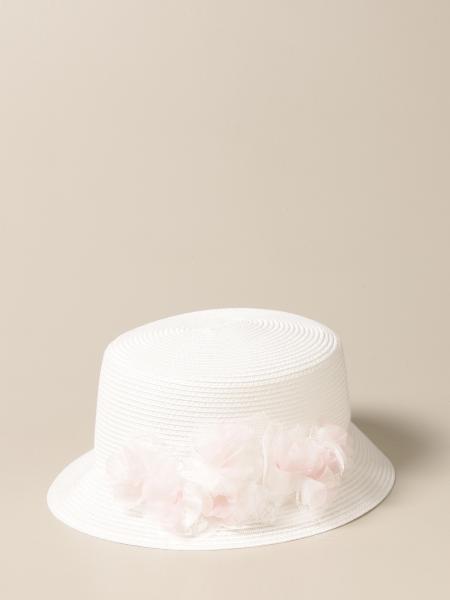 Cappello Colori Chiari con applicazioni in tulle