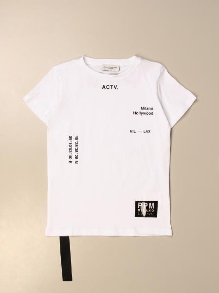 Paolo Pecora: Paolo Pecora t-shirt in cotton with prints