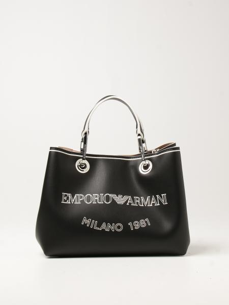 Emporio Armani: Emporio Armani bag in synthetic leather