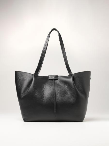 Patrizia Pepe women: Patrizia Pepe shopping bag in textured leather