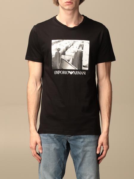 T-shirt Emporio Armani con stampa