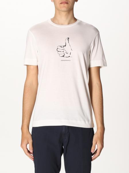 Emporio Armani: Emporio Armani T-shirt with print