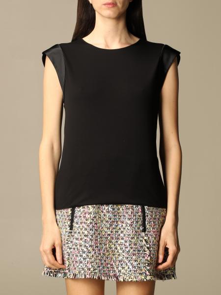 Emporio Armani women: Emporio Armani sweater in stretch viscose