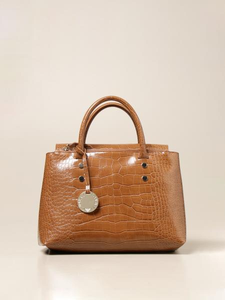 Emporio Armani women: Emporio Armani bag in synthetic leather with crocodile print