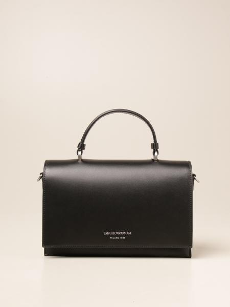Emporio Armani women: Emporio Armani bag in genuine leather