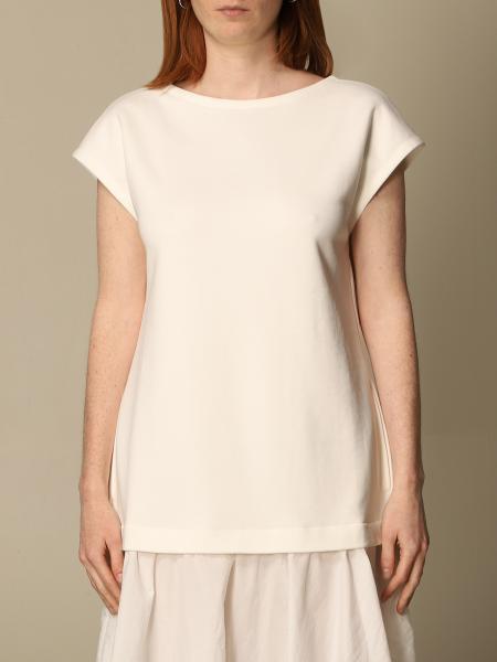 Emporio Armani women: Emporio Armani sweater in cotton blend