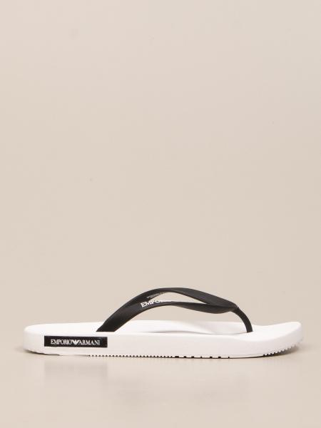Emporio Armani Swimwear thong sandal