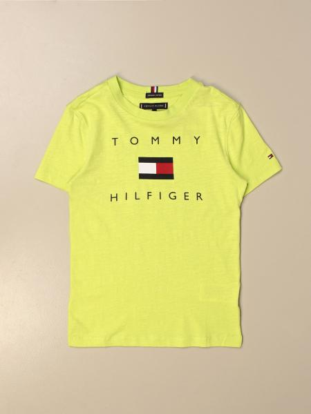 Tommy Hilfiger: T-shirt Tommy Hilfiger in cotone con logo