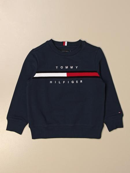 Tommy Hilfiger: Felpa a girocollo Tommy Hilfiger con logo