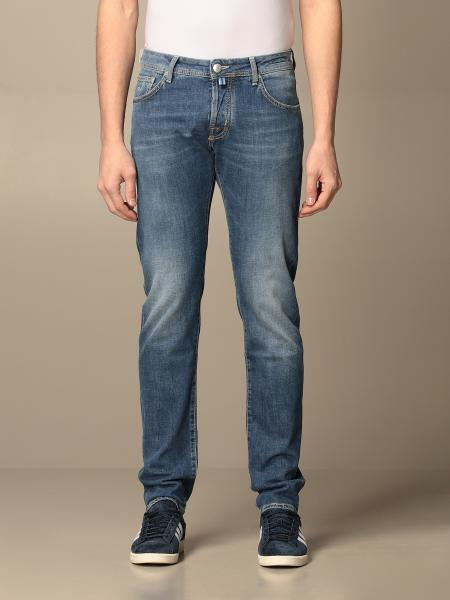 Jeans a 5 tasche Jacob Cohen in denim washed