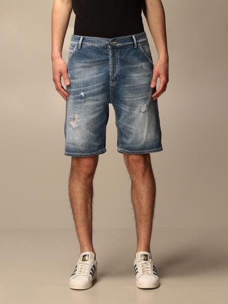 Dondup: Pantaloncino di jeans Dondup con rotture