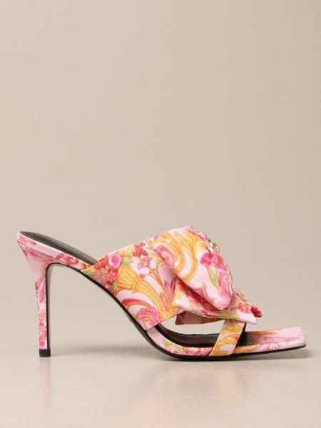 Босоножки на каблуке Женское Versace Jeans Couture