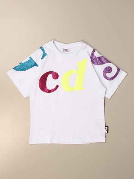Gcds t-shirt with big multicolor logo