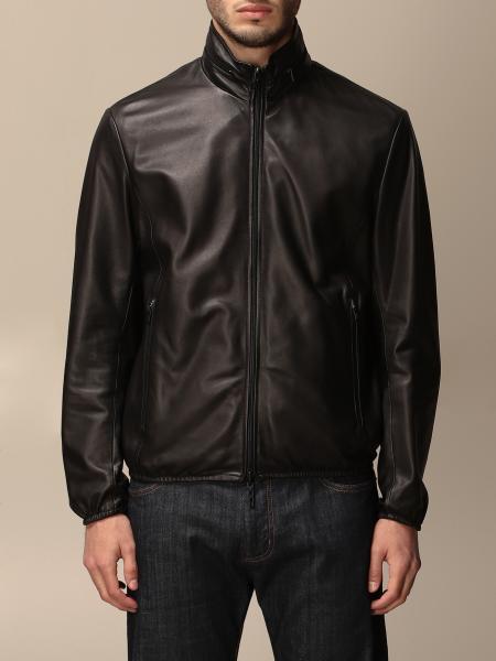 Reversible Emporio Armani leather jacket