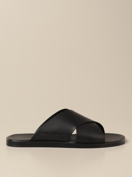 Cozy Balenciaga leather sandal