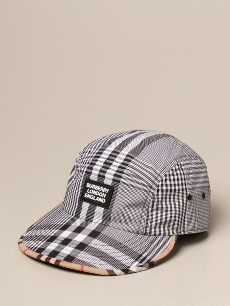 Burberry 格纹棉质棒球帽