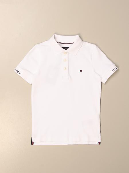 Tommy Hilfiger: Polo Tommy Hilfiger in cotone con logo