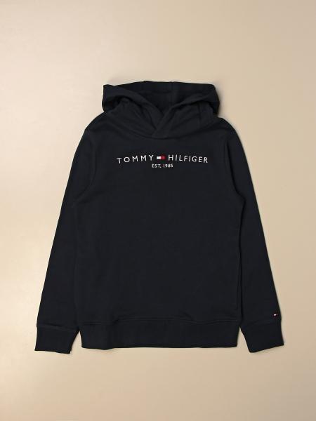 Tommy Hilfiger: Felpa con cappuccio Tommy Hilfiger con logo