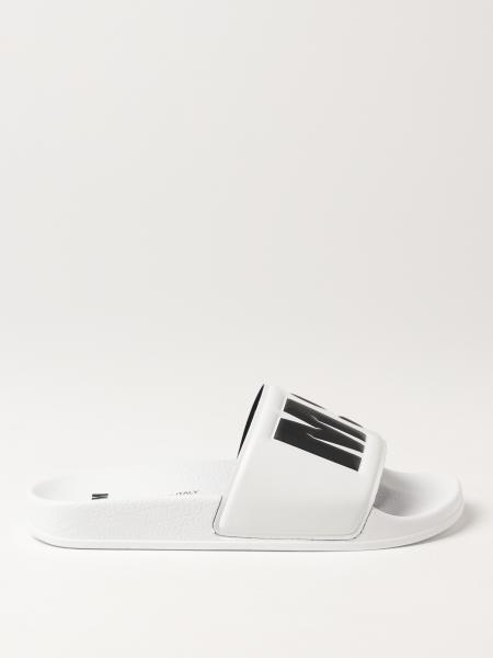 Sandales plates femme Msgm
