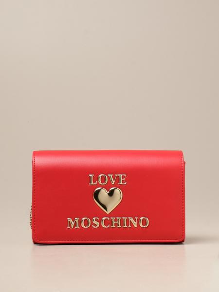 Love Moschino crossbody bag with logo