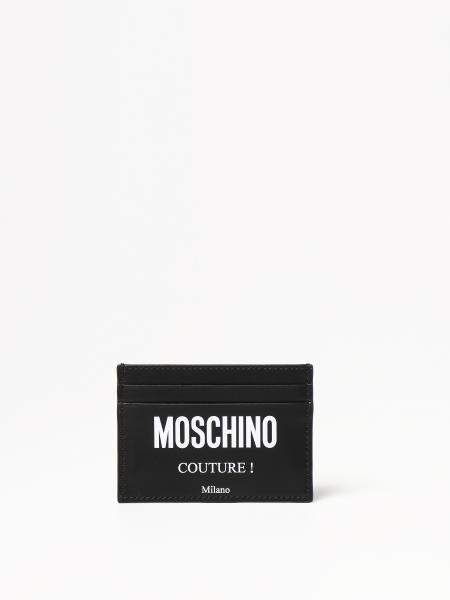 Moschino Couture credit card holder in leather