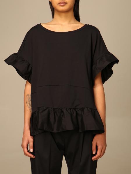Twinset women: Twin-set T-shirt with maxi flounces