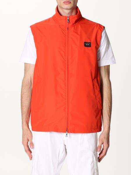 Paul & Shark: Gilet con zip Paul & Shark con mini logo