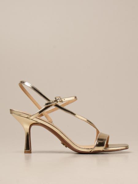 Heeled sandals tasha michael michael kors sandals in laminated leather Michael Kors - Giglio.com