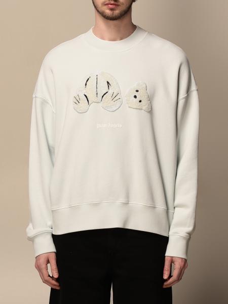 Palm Angels: Palm Angels crewneck sweatshirt with bear patch