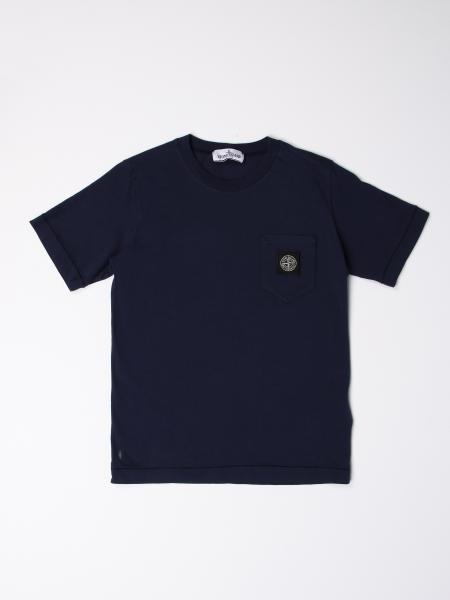 Stone Island Junior T-shirt with logo