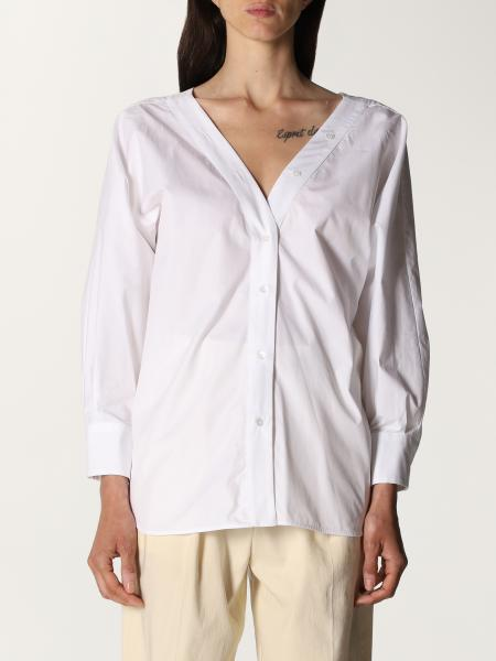 Tela: Camicia a v Tela in cotone