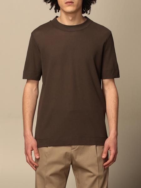 Paolo Pecora: Paolo Pecora basic T-shirt with mini logo
