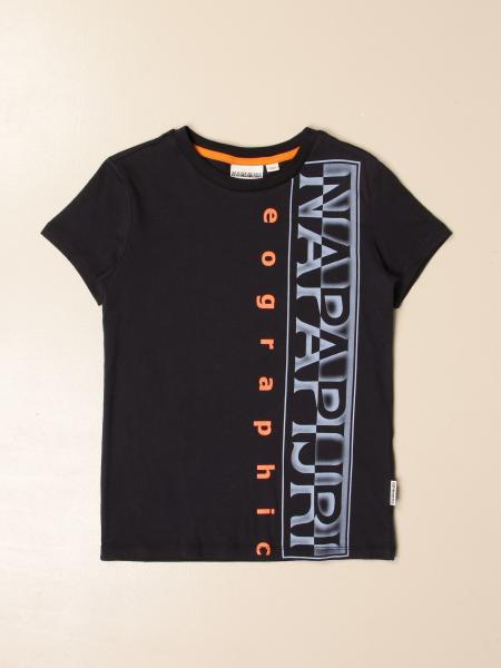 Napapijri t-shirt with big logo