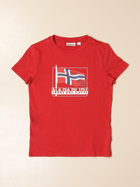Napapijri T-shirt with logo print