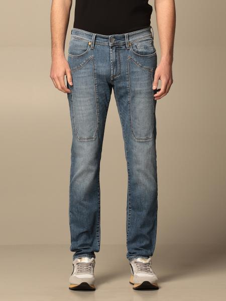 Jeckerson men: Jeckerson 5-pocket jeans with patches