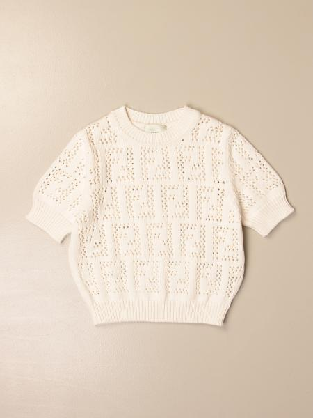 Fendi crewneck sweater in FF knit