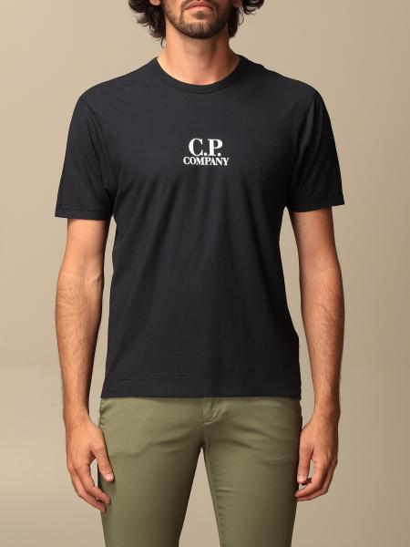 C.p. T-shirt Company in cotton with logo