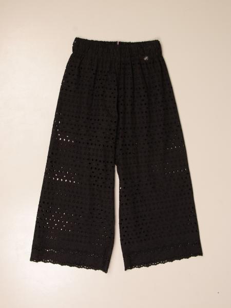 Pantalone ampio Miss Blumarine in Sangallo