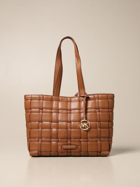 Michael Kors women: Ivy Michael Michael Kors bag in woven synthetic leather