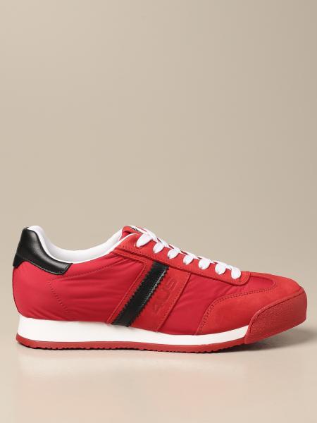 Paciotti 4Us: Sneakers Paciotti 4US in nabuk e nylon